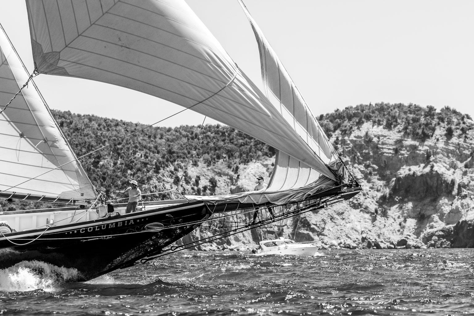 Columbia yacht, Bucket Regatta 2019 St Barths-1