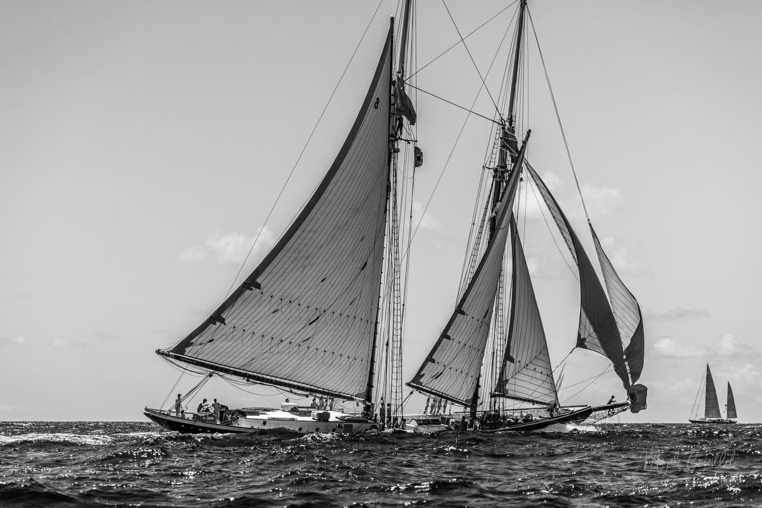 Columbia yacht, Bucket Regatta 2019 St Barths-2