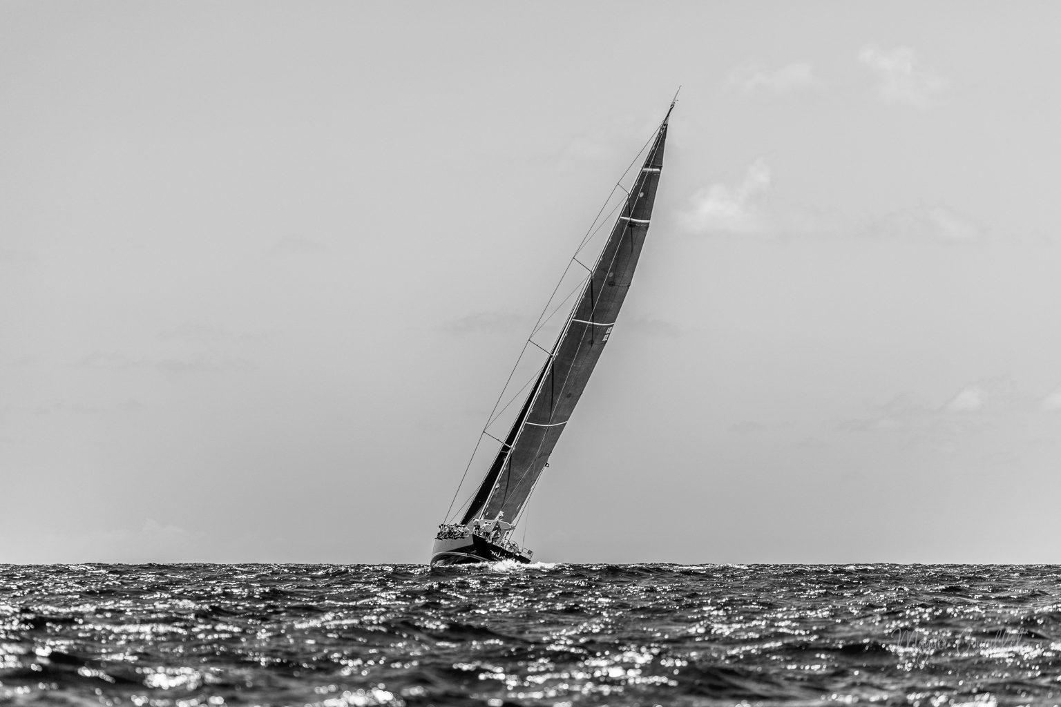 Nilaya yacht, Bucket Regatta 2019 St Barths