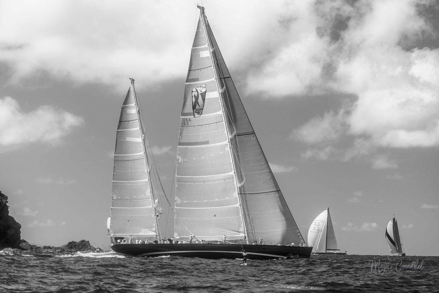 Sail Yacht, Bucket Regatta 2019 St Barths-11