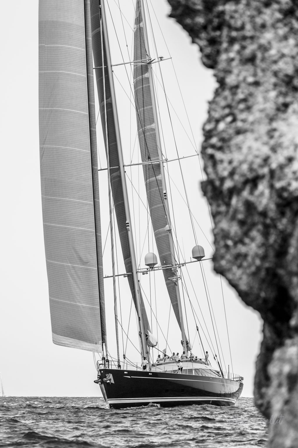 Sail Yacht, Bucket Regatta 2019 St Barths