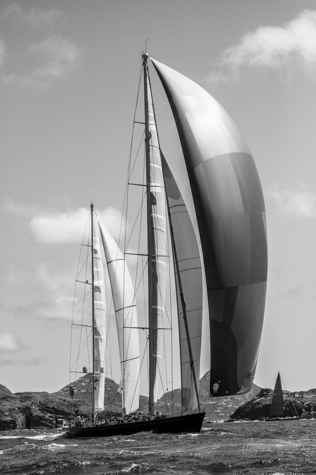 Sail Yacht, Bucket Regatta 2019 St Barths-16