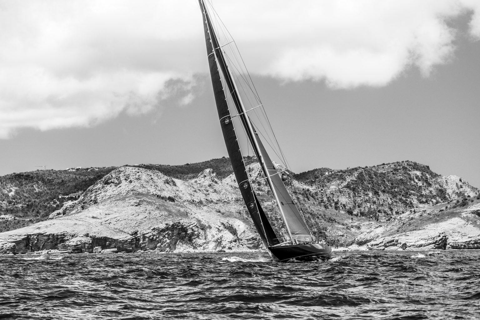 Sail Yacht, Bucket Regatta 2019 St Barths-3