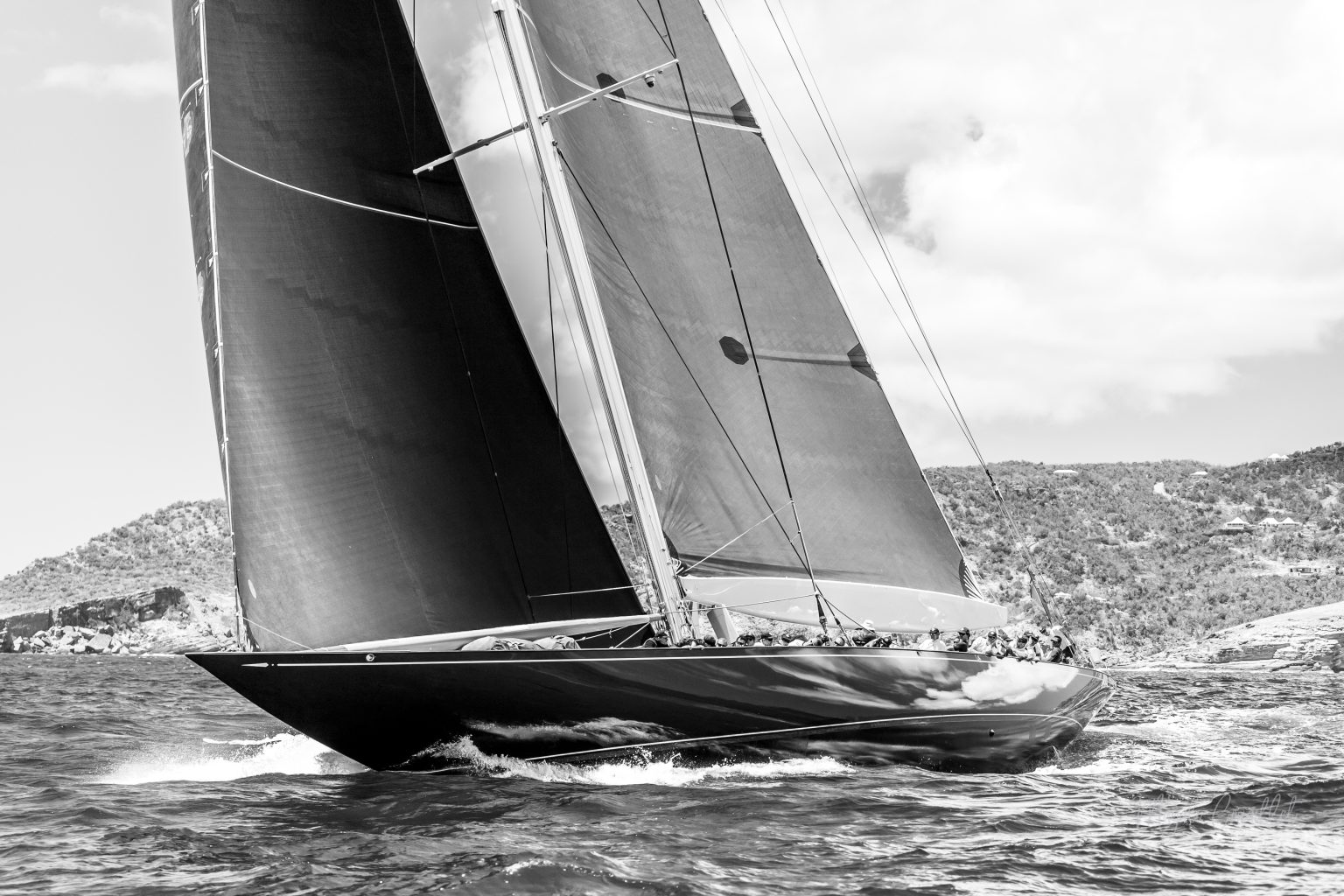 Sail Yacht, Bucket Regatta 2019 St Barths-4