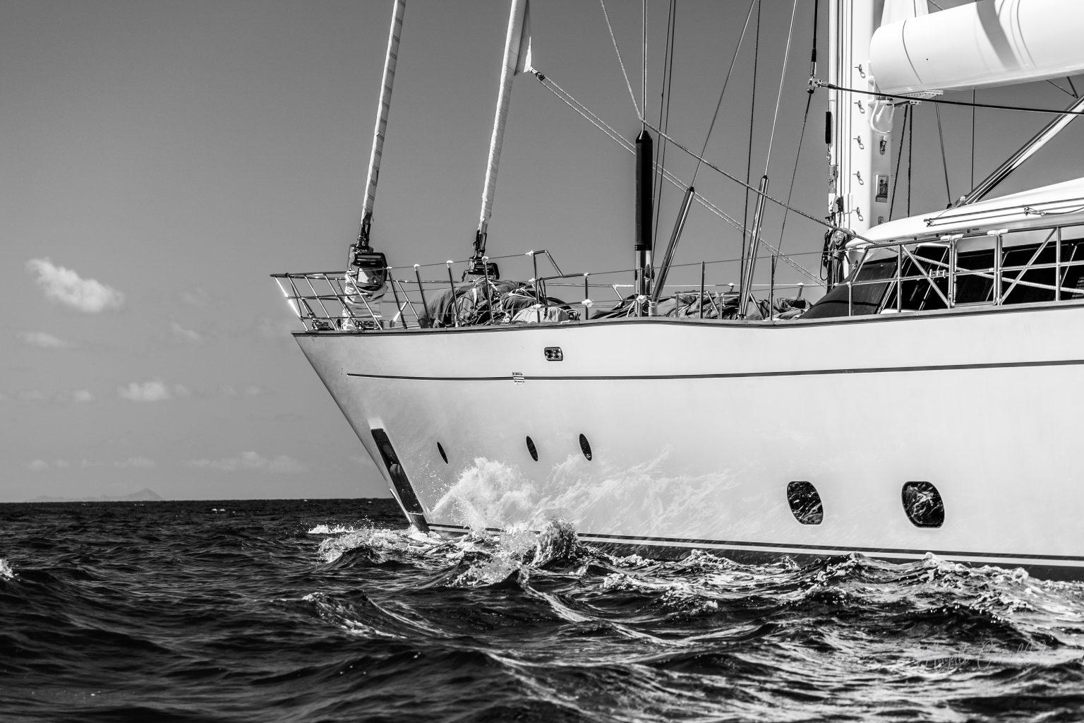 Sail yacht, Bucket Regatta 2019 St Barths-1