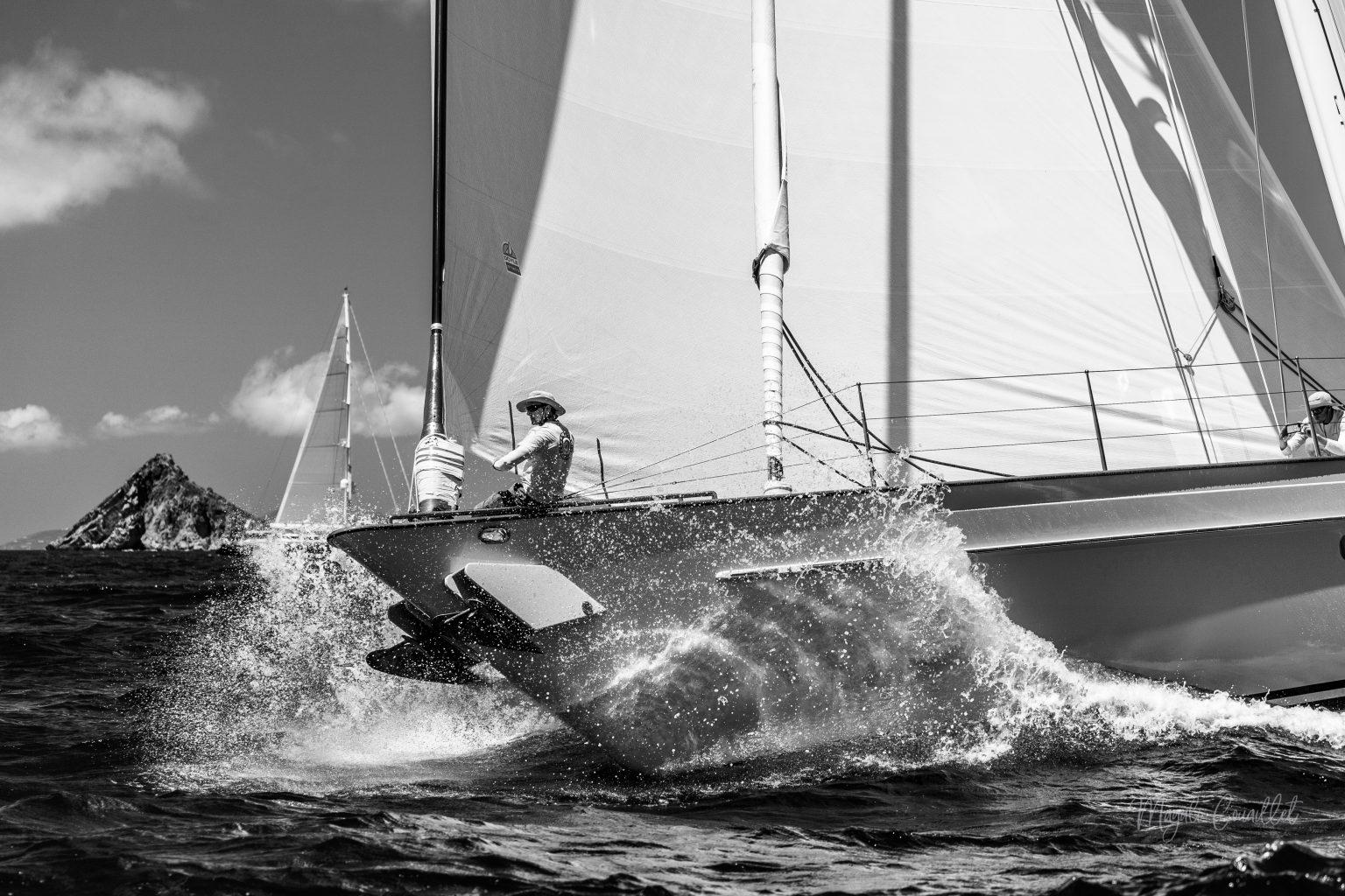 Sail yacht, Bucket Regatta 2019 St Barths-2