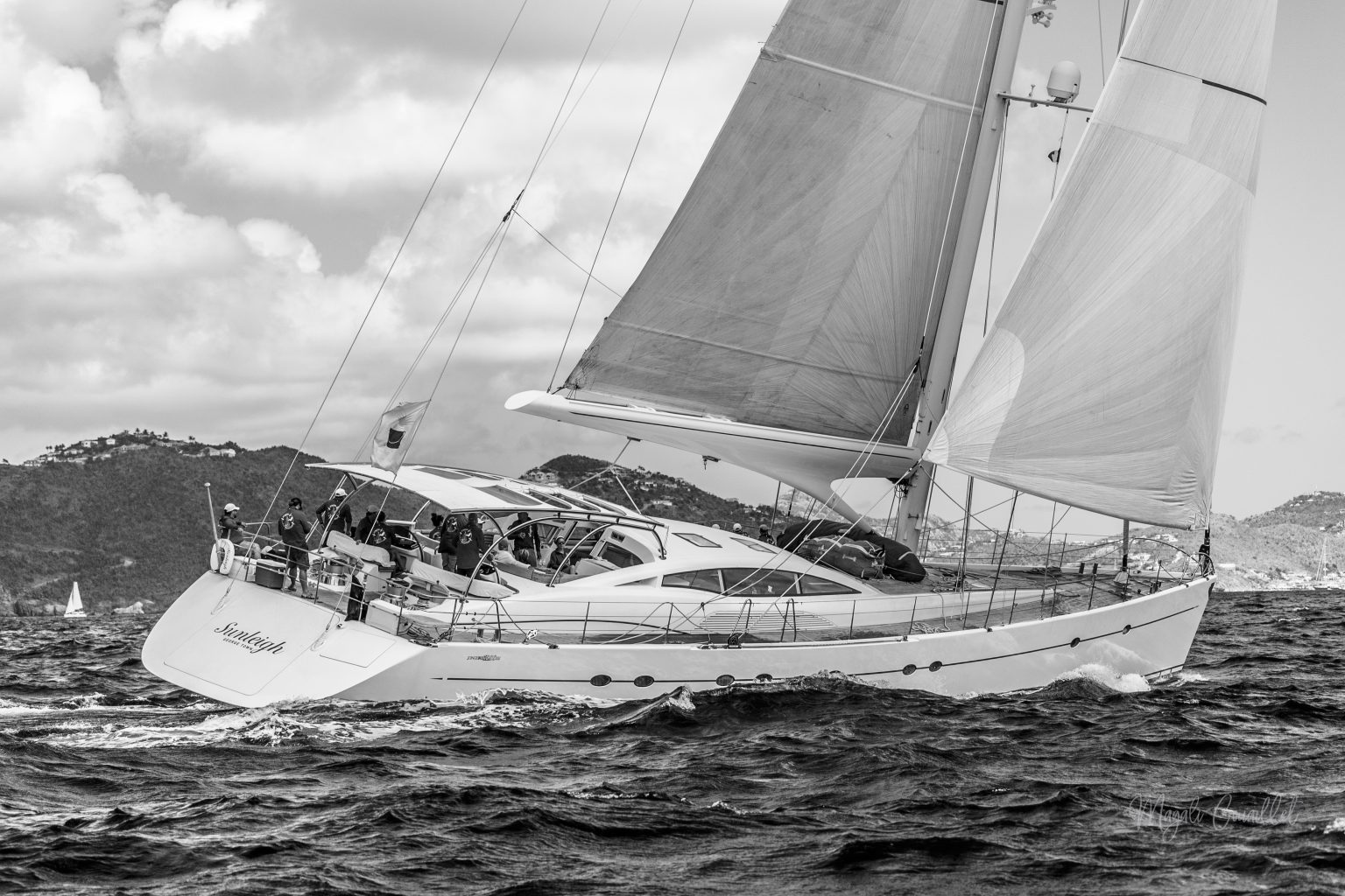 Sunleigh Yacht, Bucket Regatta 2019 St Barths