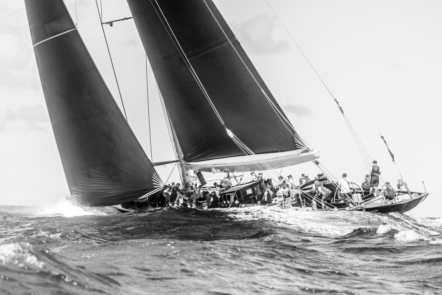 Velsheda Yacht, Bucket Regatta 2019 St Barths